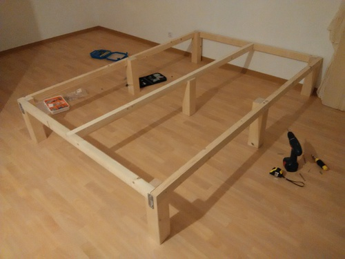 how thick should the plywood base for this bed be woodworking talk woodworkers forum. Black Bedroom Furniture Sets. Home Design Ideas