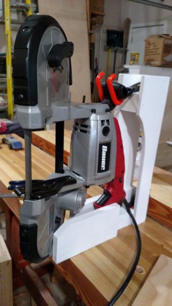 Portable Bandsaw Stand Woodworking Talk Woodworkers Forum