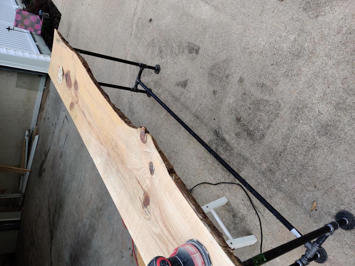 First live edge sofa/ bar table for me.-img_20200623_175049_1594482618189.jpg