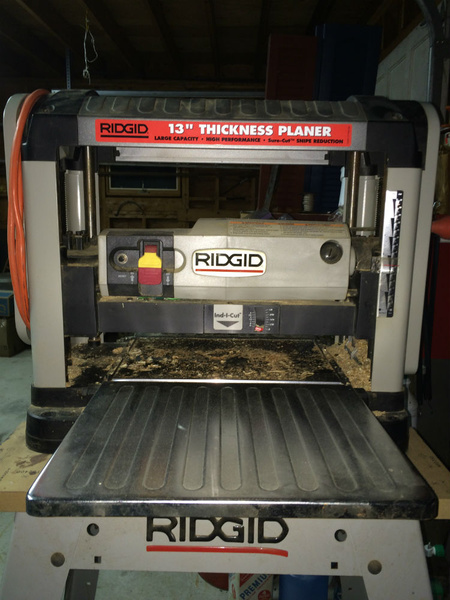 Ridgid Tp1300 Planer Craigslist Find Woodworking Talk