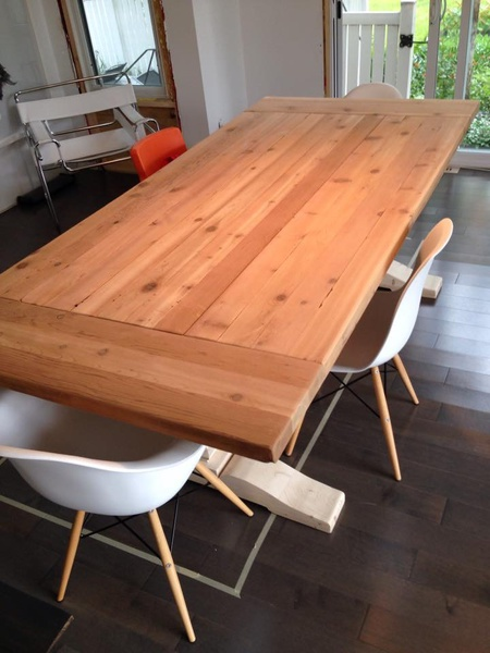 how to build a trestle table