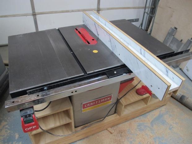 Craftsman Hybrid Cabinet Saw for sale - $650 OBO - Woodworking ...