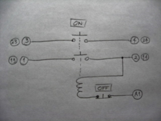 How to wire a dpst 220v momentary switch woodworking talk click image for larger version name img2816 2g views 2249 keyboard keysfo Gallery