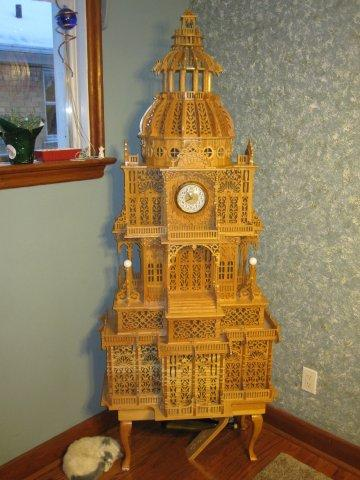 The Fretwork Clock - Woodworking Talk - Woodworkers Forum
