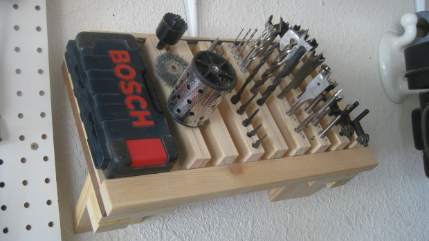 Woodworking Tool Storage Ideas