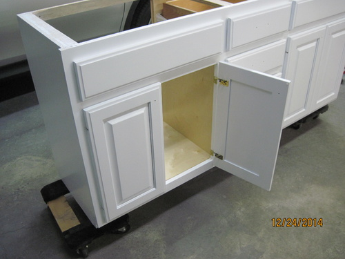 Kitchen Cabinet Doors And Face Frame Painting Woodworking Talk