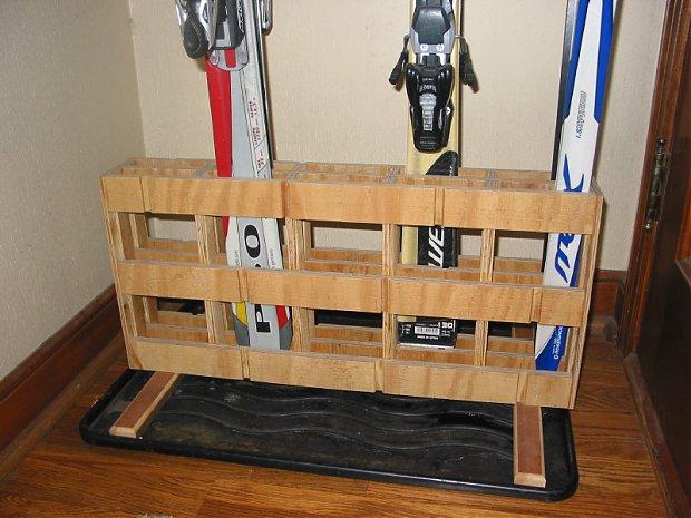 Handy Ski Rack Woodworking Talk Woodworkers Forum