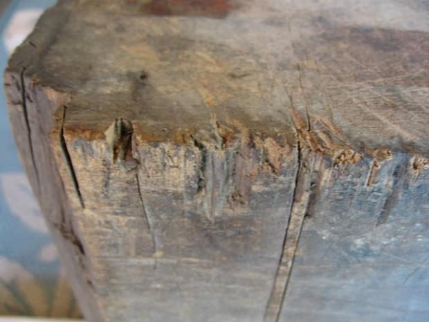 Antique Butcher Block Repair
