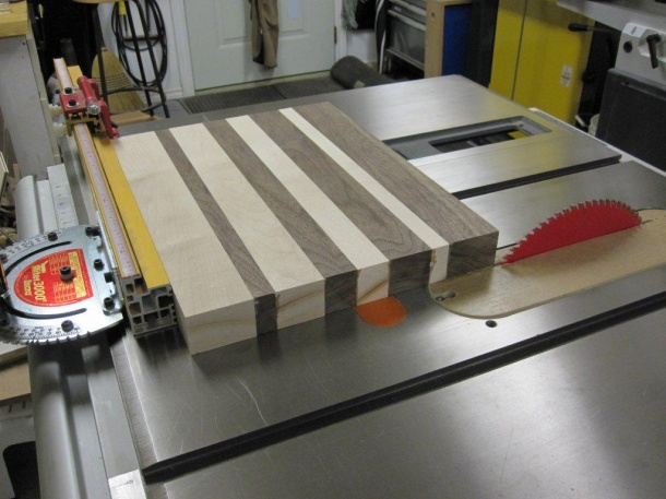 how to make end grain cutting boards  woodworking talk, Kitchen design