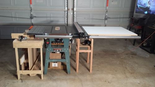 Vega pro 50 table saw fence installed on jet ts woodworking talk click image for larger version name incra installed1g views 758 size greentooth Image collections