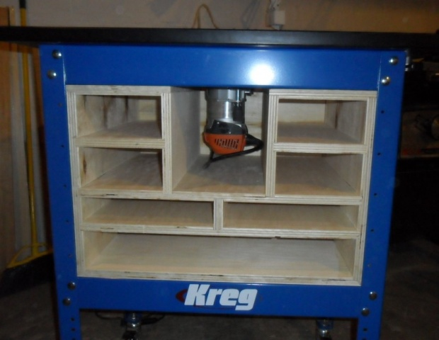 Kreg Router Stand Cabinet - Woodworking Talk - Woodworkers Forum
