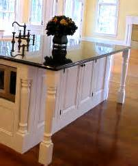 Kitchen Island Legs looking for legs for a kitchen island - woodworking talk