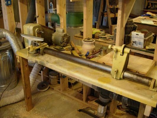 Vintage Craftsman Wood Lathe