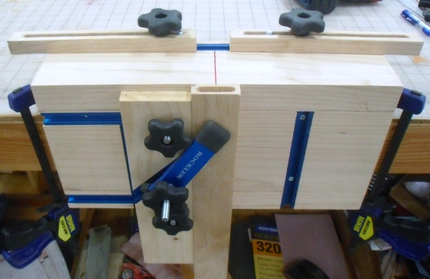 Loose Tenon Mortise Jig Woodworking Talk Woodworkers Forum