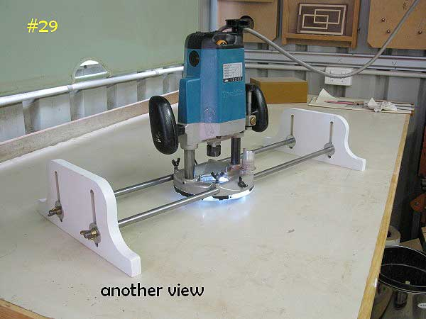 What bit do you use with a router sled woodworking talk for Router table guide