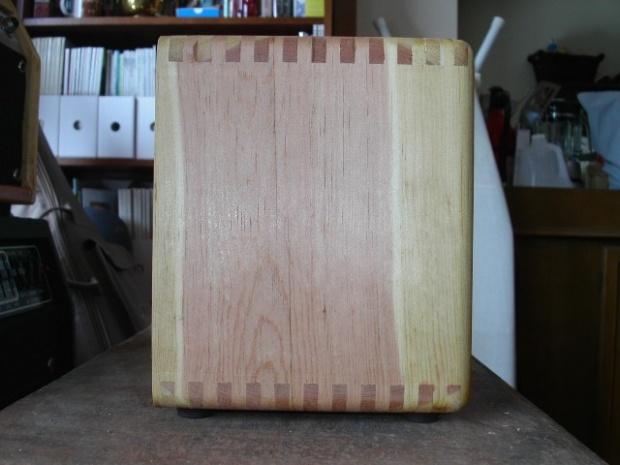 dovetails for guitar amp cabinet woodworking talk woodworkers forum. Black Bedroom Furniture Sets. Home Design Ideas