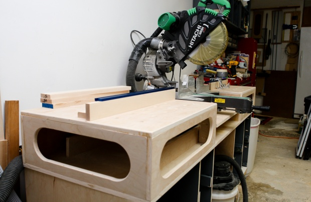 One Car Garage Size >> Cut-off or radial arm saw... or both? - Woodworking Talk - Woodworkers Forum