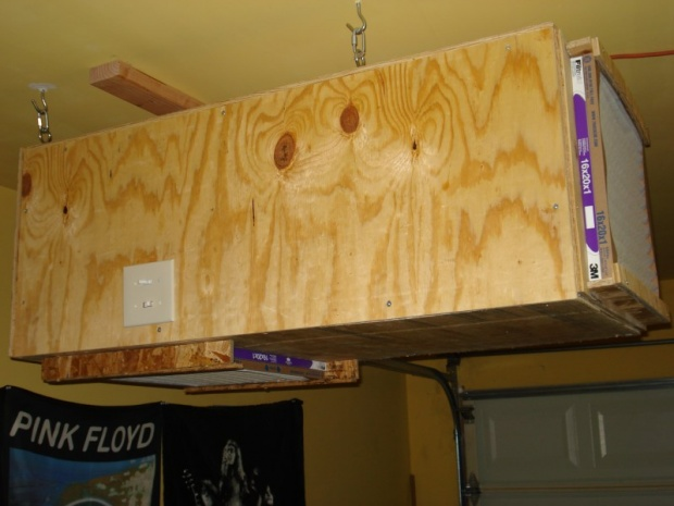 Diy Air Filtration Blower Is This Overover Kill Woodworking Talk Woodworkers Forum
