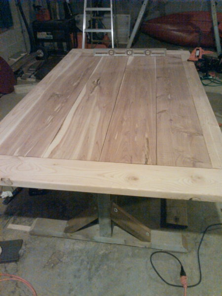 Finish For Cedar Dining Table Woodworking Talk