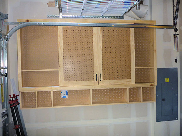 Sliding Door Pegboard Cabinet Woodworking Talk