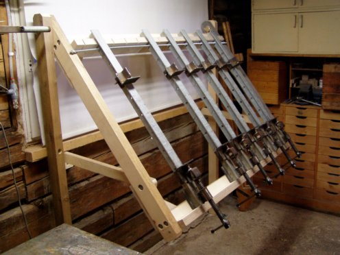 Clamping Rack Woodworking Talk Woodworkers Forum