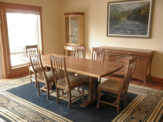 finally got the chairs done - Woodworking Talk - Woodworkers Forum