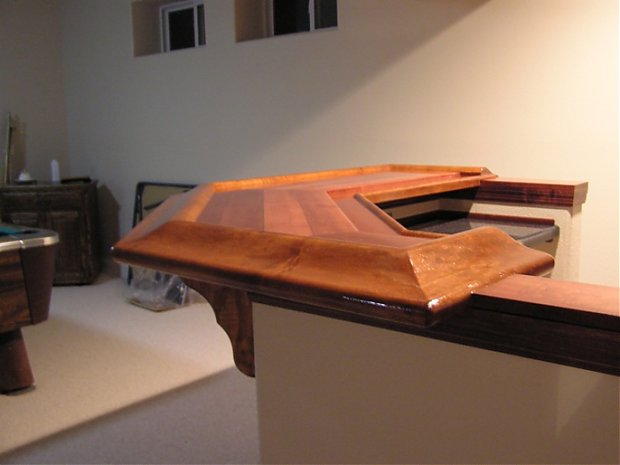 How Do I Make A Bar Rail Woodworking Talk Woodworkers Forum