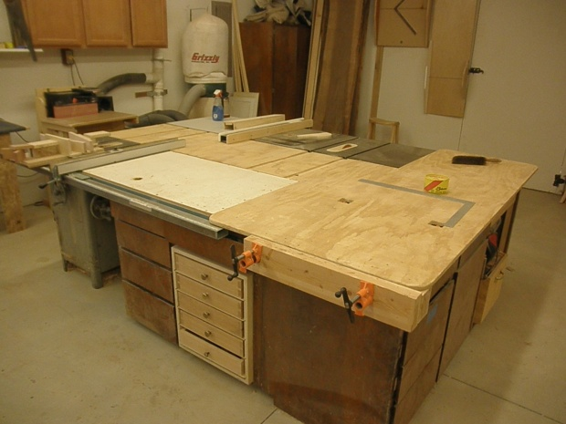 Table Saw Outfeed Table Woodworking Talk Woodworkers Forum