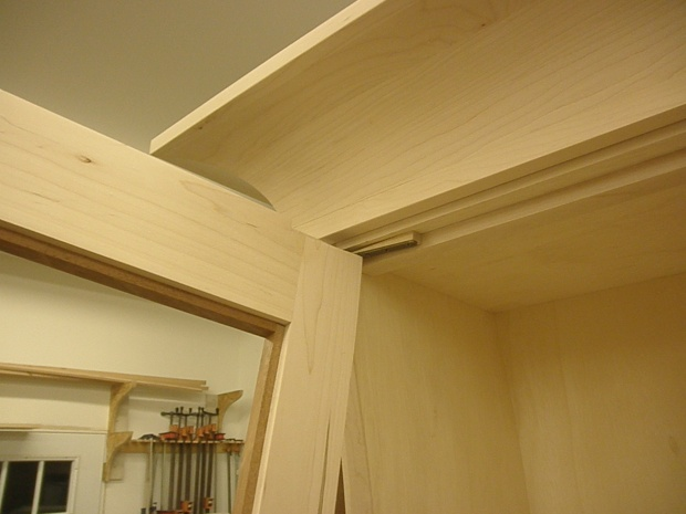 Installing Hinges On Compound Curved Doors Woodworking