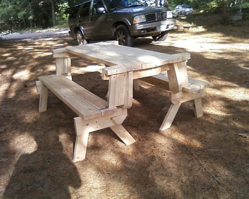 Fabulous Folding Picnic Table Bench Plans 500 x 399 · 100 kB · jpeg