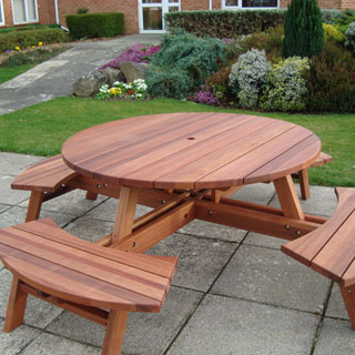 Round picnic table plans woodworking talk woodworkers forum attached images watchthetrailerfo
