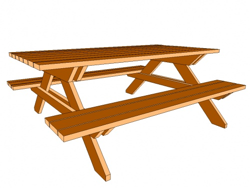 Name: PICNICTP.jpg Views: 3401 Size: 50.8 KB - Picnic Table.........what Type Of Wood? - Woodworking Talk