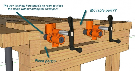 new fangled work bench question woodworking talk woodworkers forum