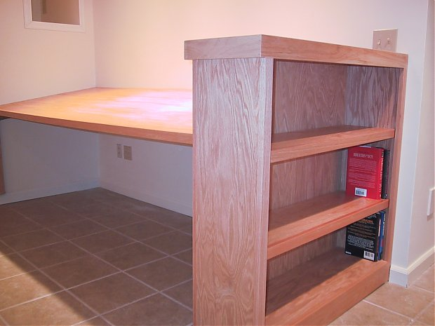 bookcase table plans