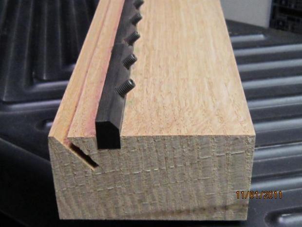 Fancy Planer Jointer Knife Fixture Woodworking Talk