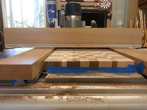 Simple Router Planing Jig Woodworking Talk Woodworkers