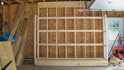 Vertical Plywood Storage Rack Plans