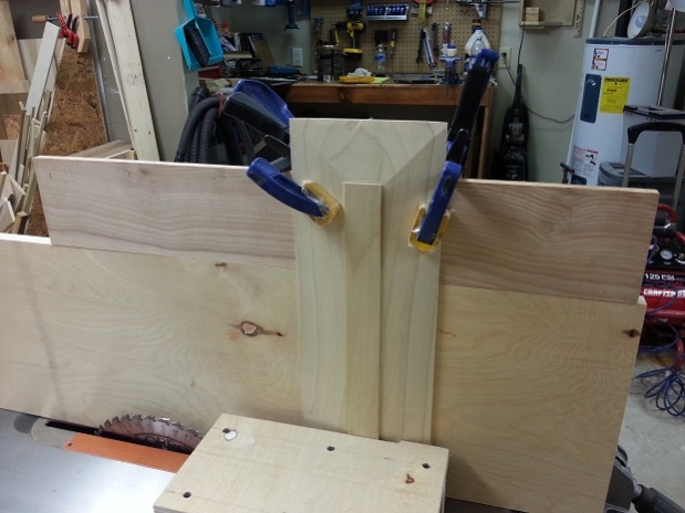 Rolling Garage Cabinet for Dad (Pic Heavy)-raised-panel-clamping.jpg