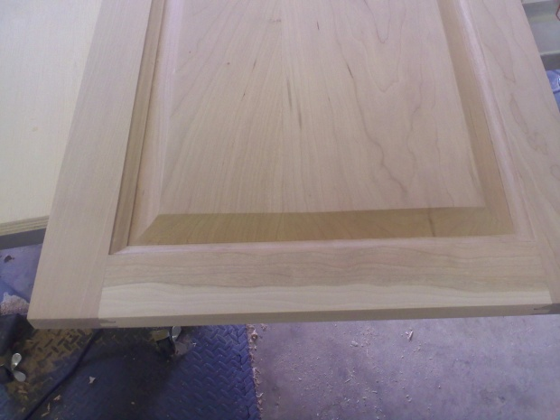 Raised Panel Edge Detail Woodworking Talk Woodworkers