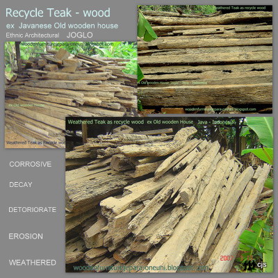 ... recycled wood furniture. Attached Images