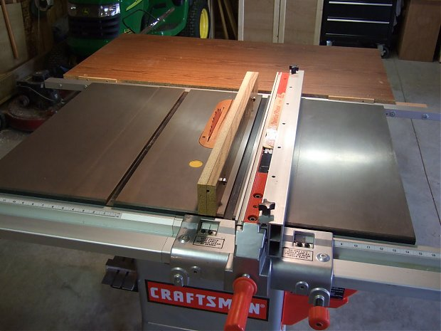 Craftsman 22114 Table Saw Woodworking Talk Woodworkers