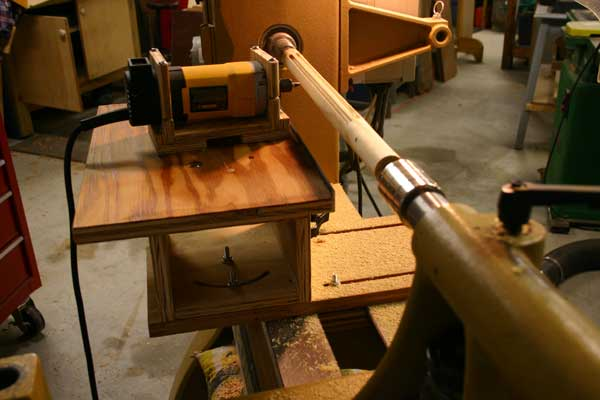Router lathe DIY? - Woodworking Talk - Woodworkers Forum