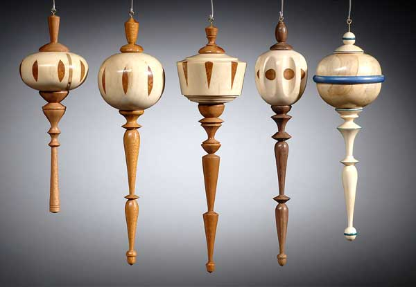 woodturning christmas ornaments. click image for larger version name: router-ornaments.jpg views: 14096 size woodturning christmas ornaments t