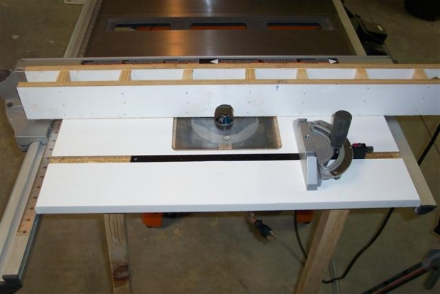 Router table for table saw woodworking talk woodworkers forum click image for larger version name router table 021 smallg views greentooth Gallery