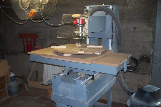 Woodworking router milling machine