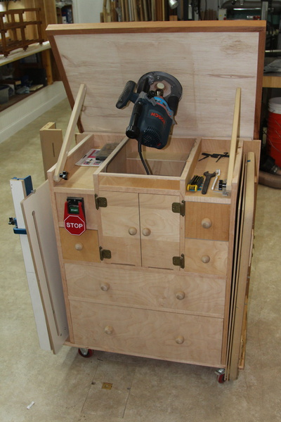 Build Your Own Router Table Woodworking Talk