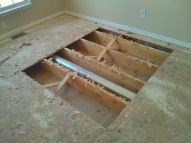 Replacing T G Osb Subfloor Panels Woodworking Talk