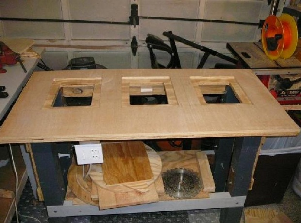 Cheap router table insert woodworking talk woodworkers forum click image for larger version name rtbl3 1g views 7724 size greentooth Gallery