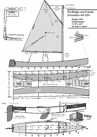 Small to Big Boat Plans: pirogue boat plans free