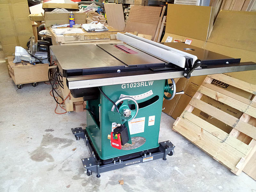 Ideal Height Of Tablesaw Tabletop From Floor Woodworking Talk Woodworkers Forum